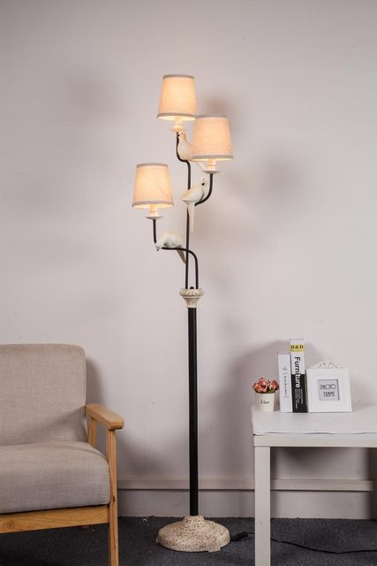 staande lampen met led verlichting perfect staande lamp. Black Bedroom Furniture Sets. Home Design Ideas