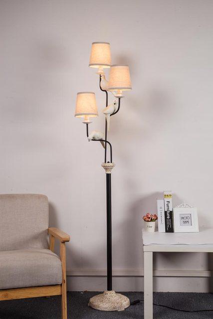 Vintage Metall Led Lampe Stehlampen Für Wohnzimmer Loft
