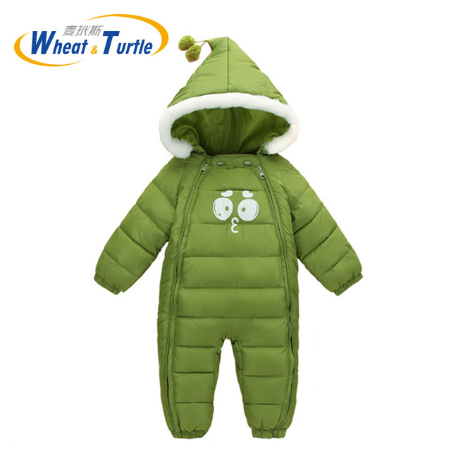 a6bce29d1 Baby Rompers Long Sleeve Jumpsuit Bebe Infant Clothing Thick Warm ...