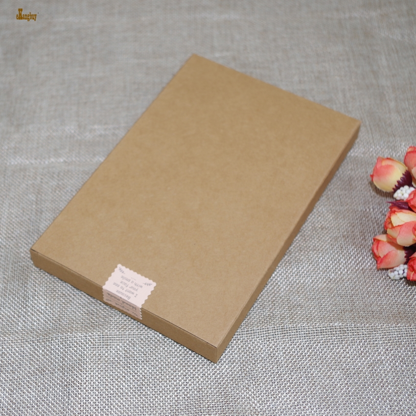 20pcs/lot 12cmx18cmx2cm Kraft Paper Cosmetics Packing Box for Face Mask/Craft cards / postcard/ gift packaging bags