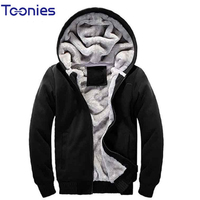 2016 New Brand Mens Hoodie Sweater Fashionable Male Plus Size Solid Pattern Men Hoodies With Zipper