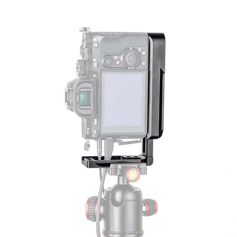 Quick Release L Support De Montage Plaque A7M3 A7R3 pour Sony A7SIII A7III A7RIII A9 Arca-swiss Standard Trépied Monopodes