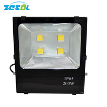 ZESOL Waterproof Led Flood light 200W Warm/Cool White Outdoor lighting Led Floodlight AC85-265V Led Reflector Outdoor Spotlight