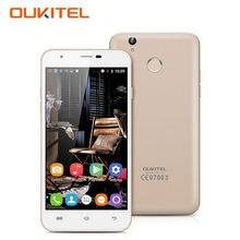 "Oukitel u7 plus 4g teléfono móvil android 6.0 5.5 ""MT6737 HD IPS Quad Core 2 GB RAM 16 GB ROM 8.0MP Cámara Smartphone de Huellas Digitales"