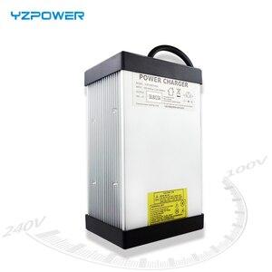 Image 2 - YZPOWER cargador de batería Li ion, CE Rohs 16S 67,2 V 7A 7.5A 8A 8.5A 9A 9.5A 10A, 60V