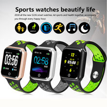 For IOS and android phone smartwatch S226 Heart Rate bluetooth 4.0 Smart Watches Pedometer for apple hauwei xiaomi watch pk GT88(China)