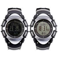 Multi functional Sport Watch LCD Display Digital Watch Outdoor Sports Barometer Altimeter Waterproof Stopwatch Compass Clock