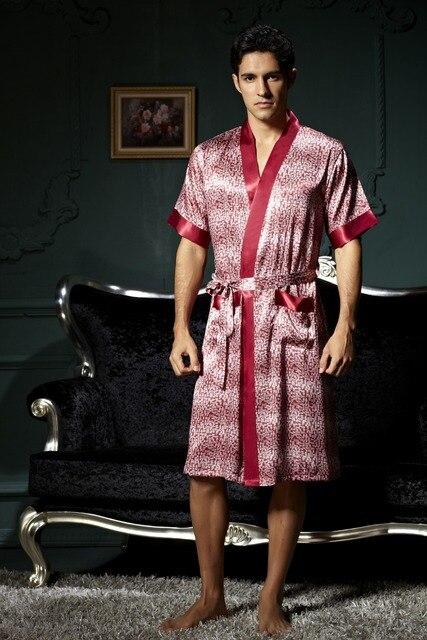 Kostenloser Versand Sexy Männer Nacht Tuch Robe Pyjamas Nacht Kleid ...