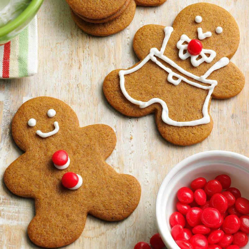 Keniao gingerbread homem cortador de biscoito para festa de natal-13 cm e 9.7 cm-biscoito/fondant/cortador de pastelaria-aço inoxidável