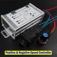 DC Motor Controller Motor Drive Module 12V 24V 36V 48V Reverse Switch Positive Inversion Speed Governor