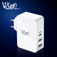 VVKing Type C PD 3.0 Charger 41W Fast Charging EU/US Wall Charger For Macbook Ipad Pro iPhone Samsung Huawei 2 USB chargeur 2.4A