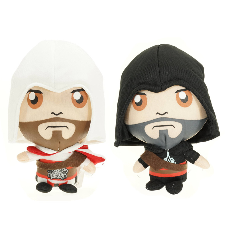 18cm 30cm Movie Version Cartoon Connor Ratohnhake:ton Ezio Auditore Toy Doll Cotton Soft Stuffed Toy