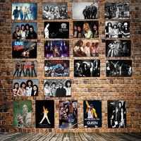 [ DecorMan ] Queen music Metal Plaque Custom wholesale tin signs Mural Paintings Bar PUB Decor HY-1718