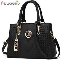 FGJLLOGJGSO Stickerei Umhängetasche Marke Frauen Handtaschen Leder Weibliche Crossbody Schulter Tasche Dame Hand Tasche Sac Bolsa Feminina