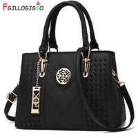 Fgjllogjgso bordado saco do mensageiro marca feminina bolsas de couro feminino crossbody bolsa de ombro senhora saco de mão bolsa feminina