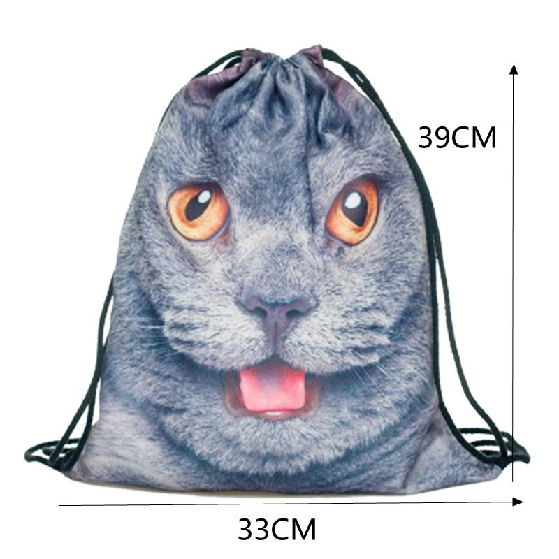 Portable Clothes Socks Shoes Underwear Storage Bag Cotton And Linen Cactus Decor Tote Drawstring Bag Travel Makeup Organizers Storage Bags