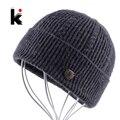 2016 шапки мужские Осень шапка зимняя Шерсть Шляпа вязаные головные уборы капот Крышка Толще Fringe Шапочки шапка мужская