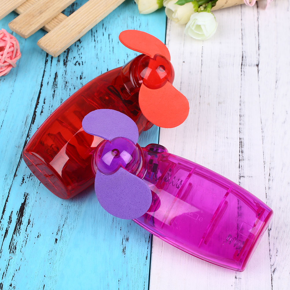 Handheld Fan Consumer Electronics Hand-Held Travel Gadget Handheld Plastic Gifts Fans Outdoor Small Air Conditioning Appliances