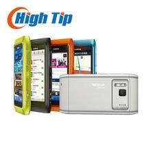 Nokia разблокирована оригинальный 3 г мобильного телефона N8 gsm WI-FI GPS 12MP сенсорный экран 3.5 «16 ГБ внутренний Бесплатная доставка Восстановленное