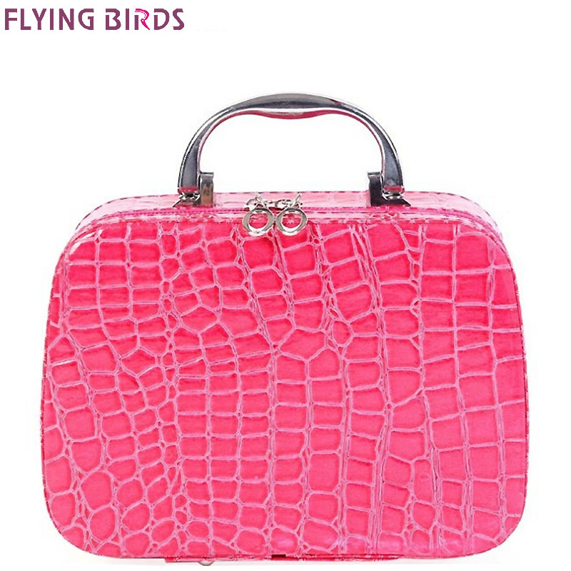FLYING BIRDS Cosmetic Bags Box Makeup Bas
