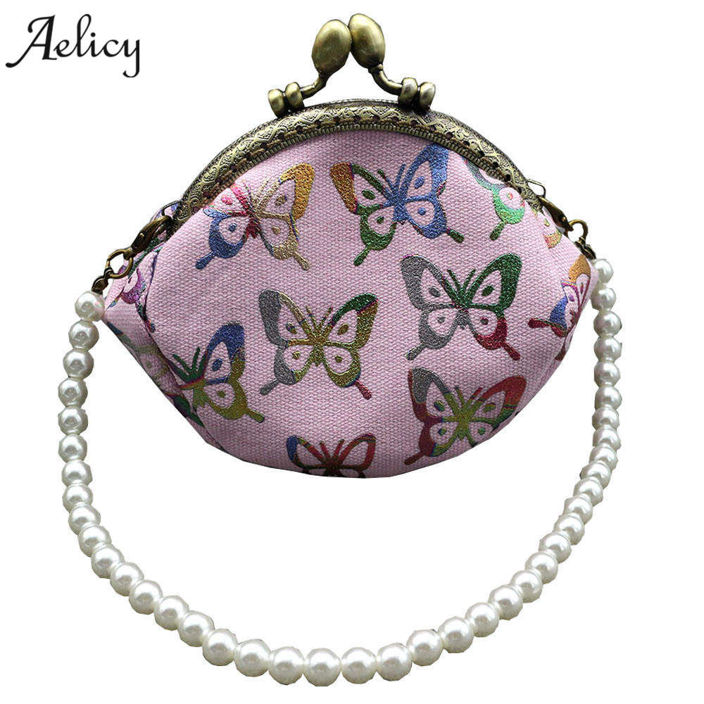Aelicy Womens Butterfly Printing Leather Women Business Card Holder Wallet Bank Credit C ...