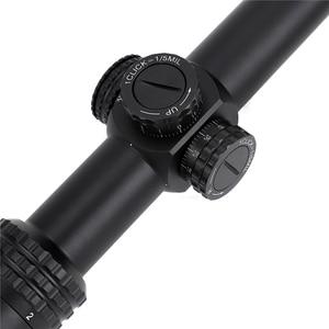 Image 5 - Tactische Ohhunt Guardian 1 6X24 Ir Jacht Riflescopes Compact Glas Geëtst Richtkruis Llluminate Torentjes Lock Reset Optische Zicht