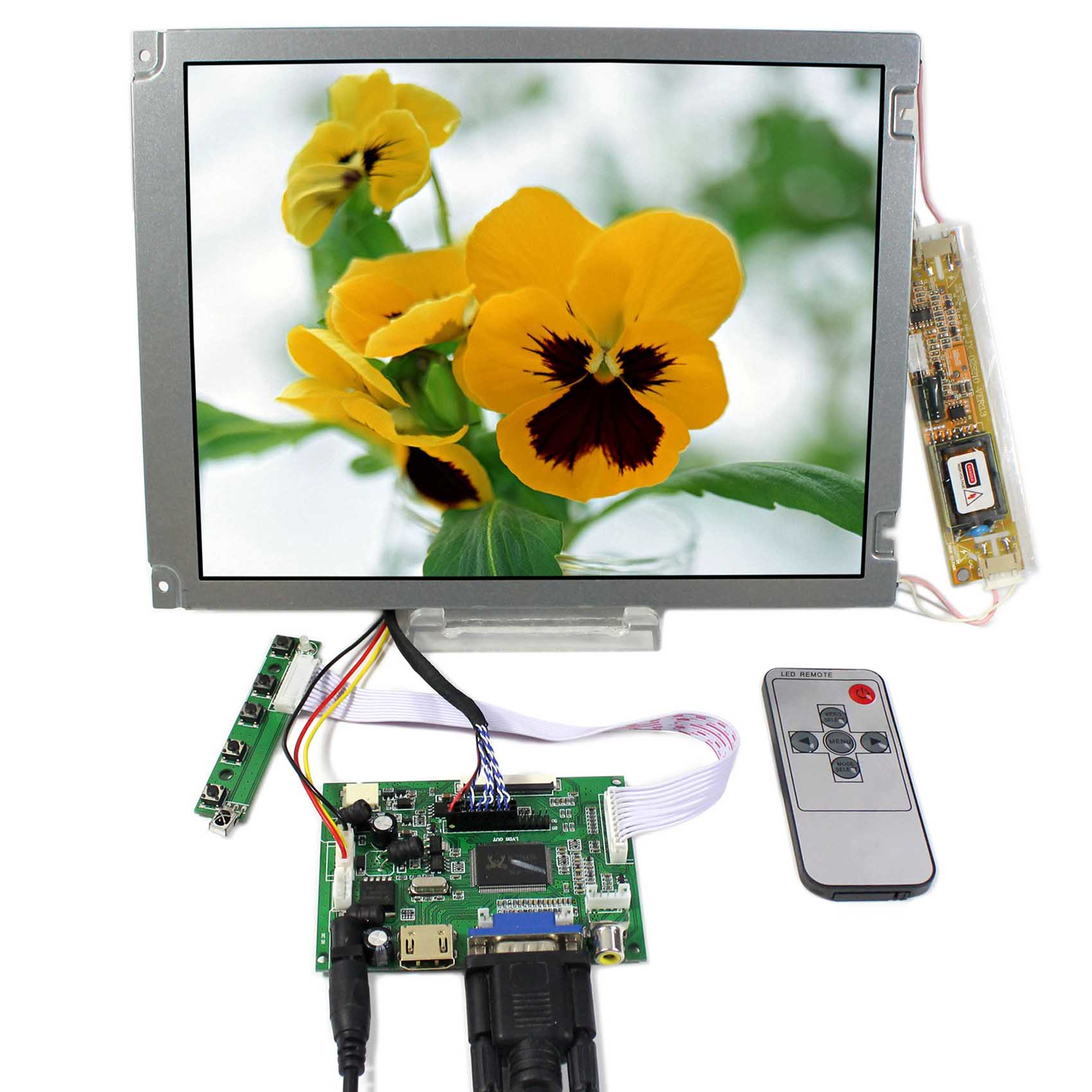 10.4inch AA104SG04 800x600 LCD Screen With HDMI VGA 2AV LCD LCD Controller Board VS-TY2662-V1 hdmi vga av audio lcd controller board kyv n3 v1 10 4inch lsa40at9001 800x600 lcd panel