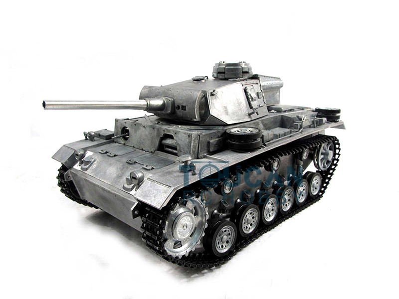 100% Metal 1/16 Mato Panzer III RTR RC Tank Infrared Barrel Metal Color 1223 mato 100