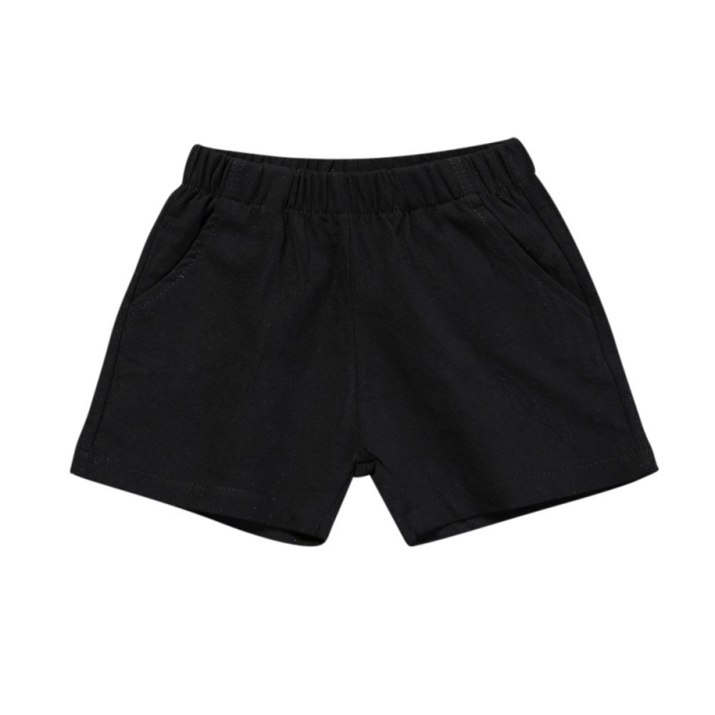Casual Kid Shorts Summer Cotton Sports Solid Color Shorts Trousers Hot Selling Blue Black Boys Pants New Arrival