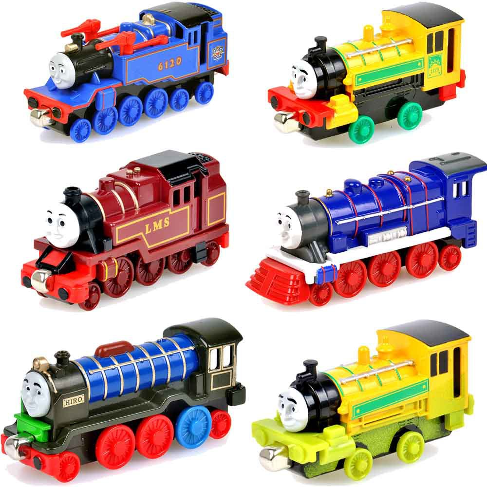 aliexpress com buy 6pcs lot magnetic metal tomas and friends