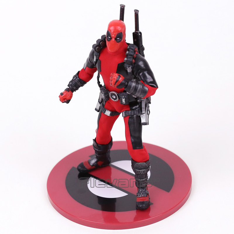 MEZCO Deadpool One:12 Collective Action Figure Model Toy (real clothes) 16.5cm дальномер лазерный ada cosmo 70м