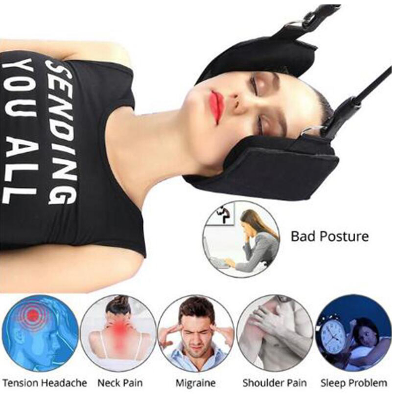 Portable Head Hammock Neck Traction Massage Pain Relief Neck Cervical Stretcher Traction Device Anti Fatigue Neck Sling HammockPortable Head Hammock Neck Traction Massage Pain Relief Neck Cervical Stretcher Traction Device Anti Fatigue Neck Sling Hammock