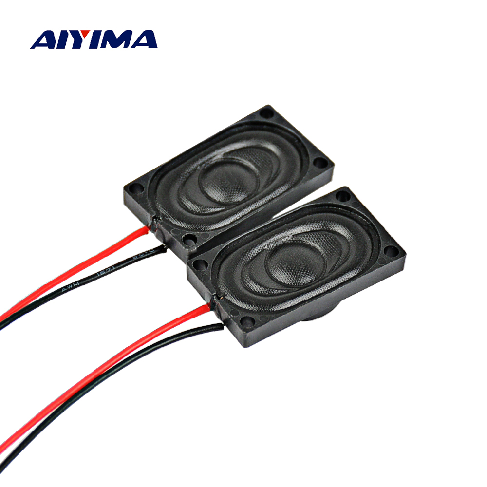 AIYIMA 10Pcs Mini Audio Portable Speakers Computer 15x25MM 8Ohm 1W DIY Laptop Mini Music Speaker Speakers For The Computer