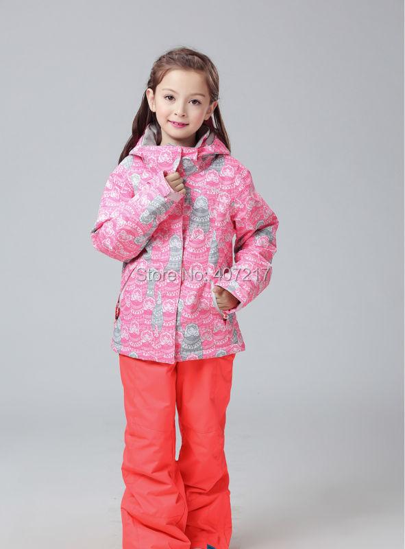2016 childrens pink ski jackets multicolor snowboarding jackets kids leopard skiing jackets skiwear anorak snow coat waterproof 2016 womens color matching ski jacket blue pink gray snowboarding jackets skiing jacket for women anorak skiwear 10k xs l