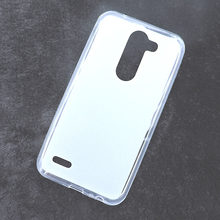 500 Pc/lot TPU Gel Back Case Cover For LG X Mach X Fast K600 Case Pudding Case Silicone Case Soft Phone Funda Multi-Color(China)