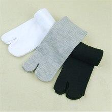 1Pairs Unisex Japanese Kimono Flip Flop Sandal Split Toe Tabi Ninja Geta Socks