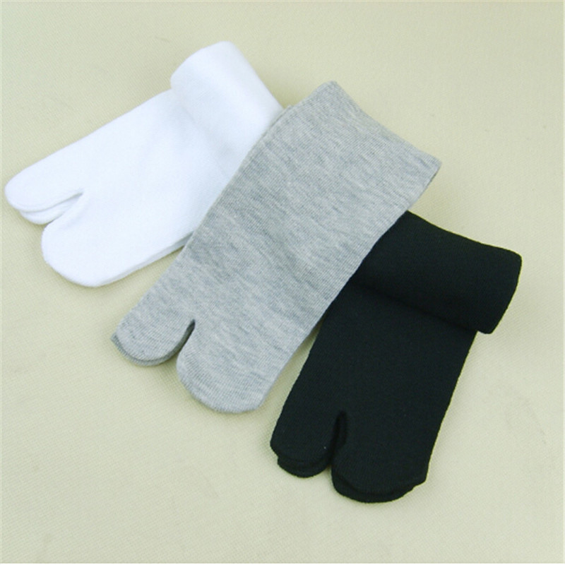 Japanese Split Toe   Socks   tabi Ninja geta   Sock   Summer Kimono Flip Flop Sandal Cotton Blend Casual   Socks   1Pair Fashion New Hot