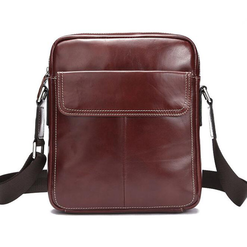 Men's Shoulder Bag Small Genuine Leather Men Bag Leather Men Messenger Bags Vintage Crossbody Bags for Man Handbag одежда