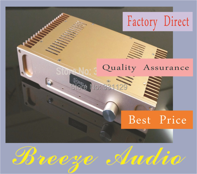 Breeze Audio-2014 NEW listed power amplifier case /The most luxurious small CLASS A power amplifier HD1969 aluminum chassis breeze audio new listed hi end silver aluminum chassis for power amplifier bz3206a aluminum enclosure case