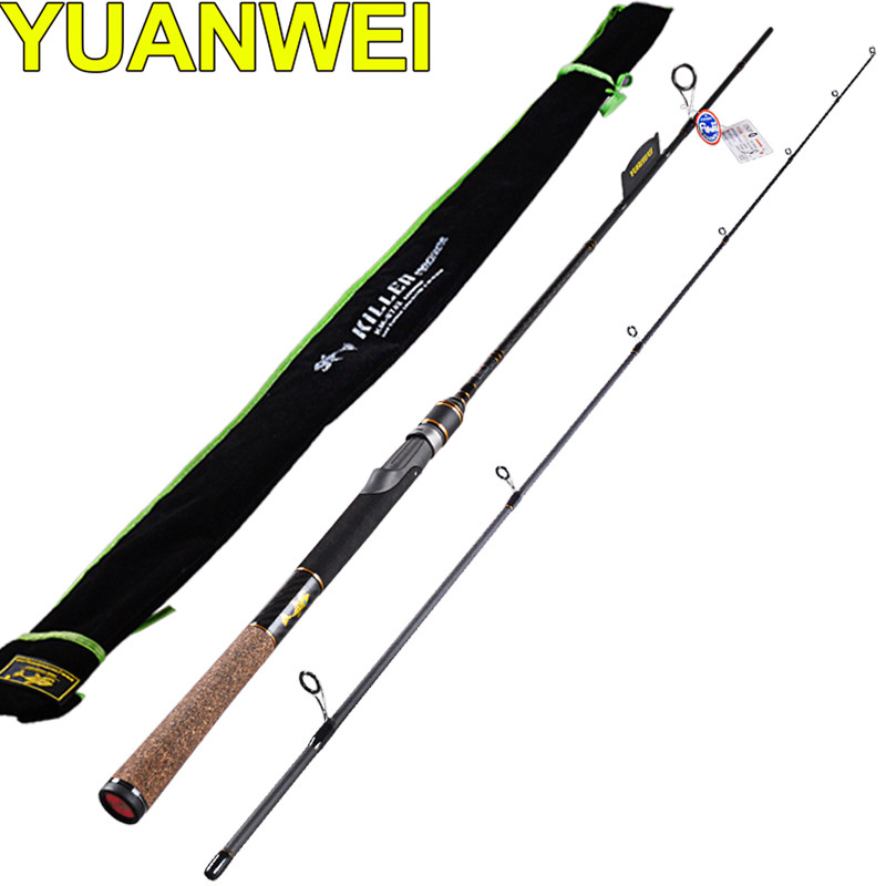 Spinning Fishing Rod 2 Section1.98m,2.1m Power:M Lure6-24g IM7 Carbon99% Lure Rods Vara De Pesca Canne A Peche Fishing Tackle spinning fishing rod 2 section1 8m power m im8 carbon lure rods vara de pesca canne a peche fishing tackle carp free shipping