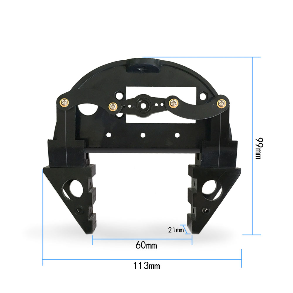 Consumer Electronics Robotic Claw Bs Mechanical Claw Robot Arm Servo Ds04-nfc Jaw Clamp For For Mg995 Mg996 Sg5010 Arduino Diy Robot Arm Smart Car Home Automation Modules