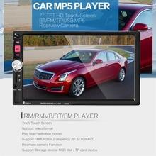 Nueva 7080B Reproductor de Vídeo Del Coche de 7 Pulgadas con Pantalla Táctil de ALTA DEFINICIÓN Bluetooth Estéreo Radio de Coche MP3 MP4 MP5 Audio USB Electrónica Automotriz