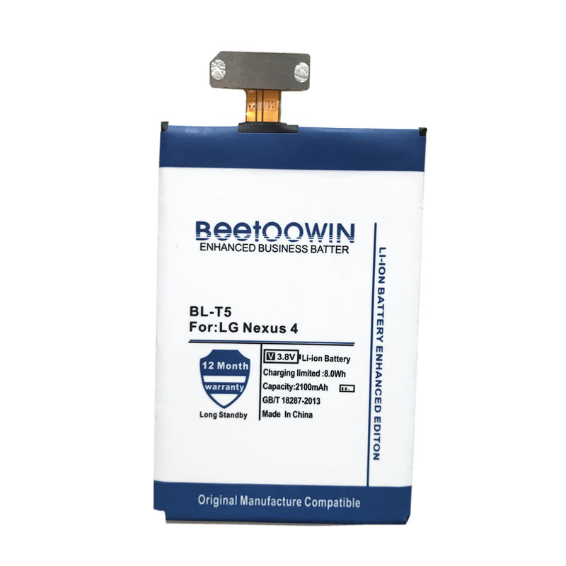BEETOOWIN Mobile-Phone-Battery E975 Nexus Original For LG 4-bl-t5/E960/E975/.. Google