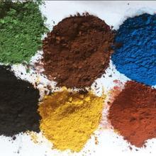 Черный коричневый желтый зеленый оранжевый синий порошок неорганического пигмента оксида железа