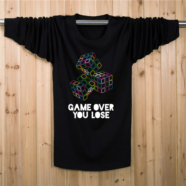 XL-7XL Plus Size Jogo t-shirt T Shirt Dos Homens do Algodão de Fitness camisa Longa t (XL XXL XXXL 4XL 5XL 6XL 7XL)