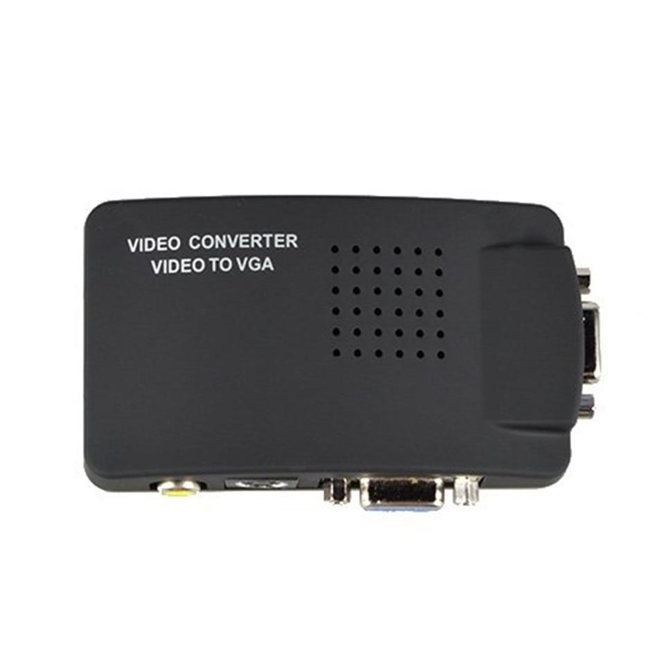 преобразователь композитного видеосигнала в vga схема
