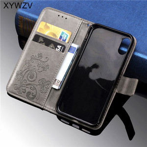 Image 4 - For Sony Xperia XZ4 Compact Case Soft Silicone Filp Wallet Shockproof Phone Bag Case Card Holder Fundas For SONY XZ4 Compact
