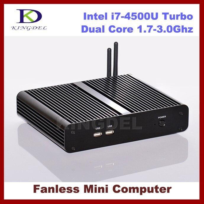 3 Year Warranty Mini PC Nettop, HTPC Intel i7-4500U Turbo Boost 3.0Ghz CPU, 16GB RAM 250GB SSD, USB3.0, 4K DP, HDMI, WiFi