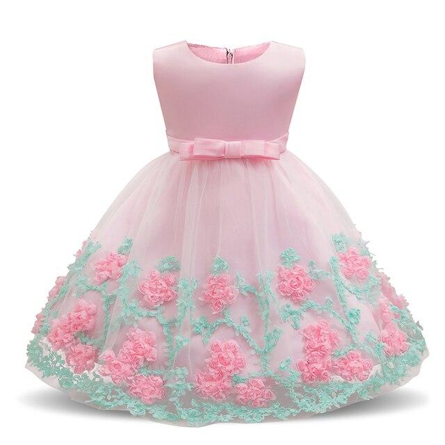 0022a3f98 Baby Girl Vantage Dress 1st Baptism Dresses for Girls Toddler 1 2 ...