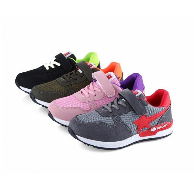 2017 Bambini Bambino Scarpa Ragazza Stella Bianco Sneaker Sport Scarpe Kid  Bambino Causale Trainer Paillettes Piatto 63d6acb41ec
